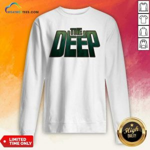 The Deep Logo Sweatshirt - Design By Weathertees.com