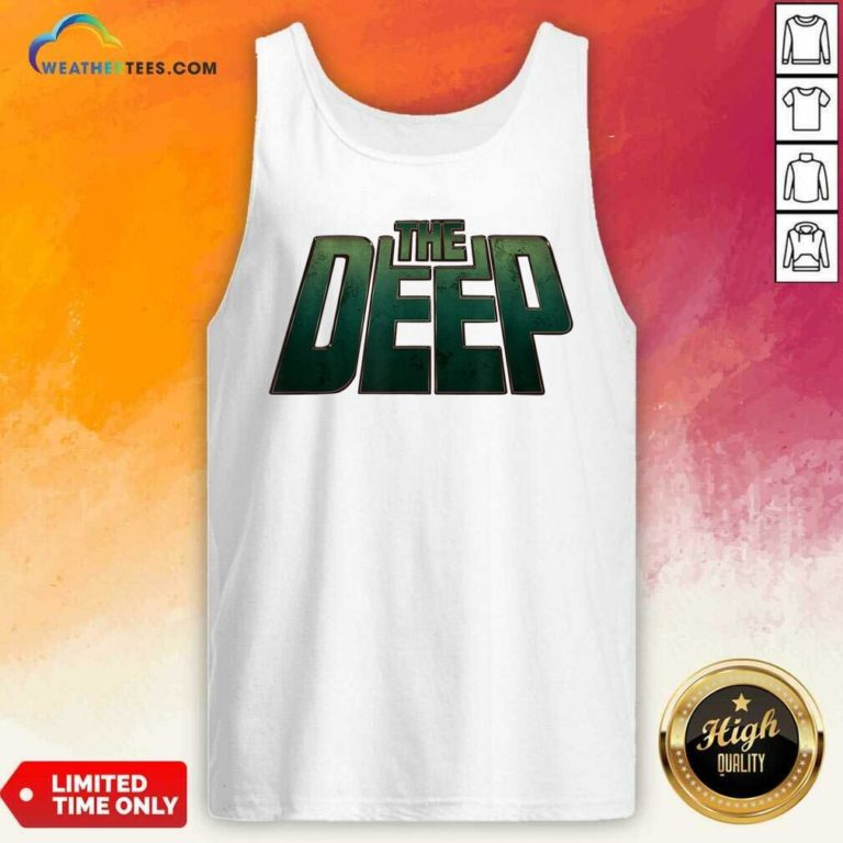 The Deep Logo Tank Top - Design By Weathertees.com