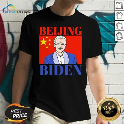 Beijing Biden China Anti Joe Biden President Trend V-neck - Design By Weathertees.com