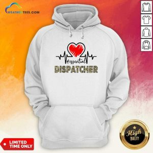 Heartbeat Essential Dispatcher Hoodie - Design By Weathertees.com