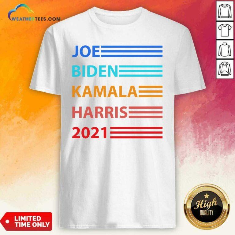 Joe Biden Kamala Harris Biden Harris 2021 Vintage Election Shirt - Design By Weathertees.com