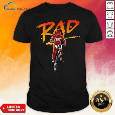 Rad Freestyle Bike Bmx Trick 33 Shirt - Design By Weathertees.com