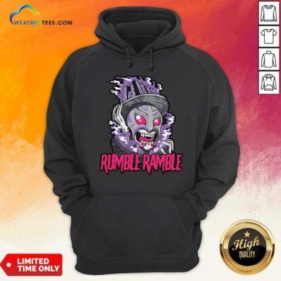 Monster Rumble Rumble Hoodie - Design By Weathertees.com