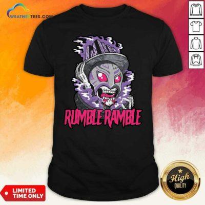 Monster Rumble Rumble Shirt - Design By Weathertees.com