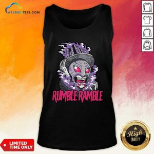Monster Rumble Rumble Tank Top - Design By Weathertees.com