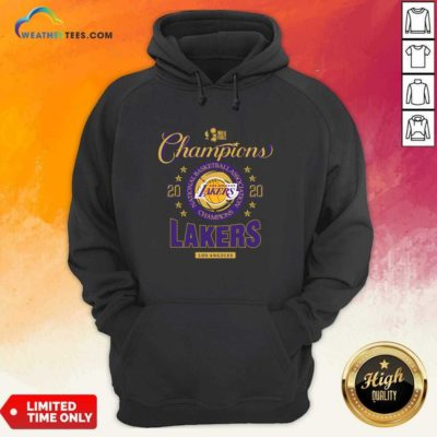 NBA Finals Champions National Basketball Association Los Angeles Lakers 2020 Hoodie - Design By Weathertees.com