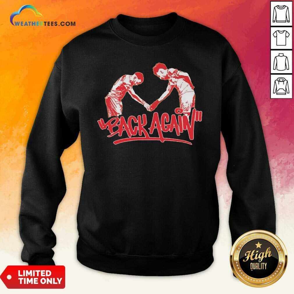 Pea Back Again Sweatshirt - Design By Weathertees.com