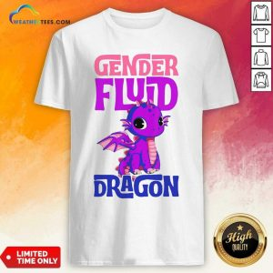 Gender Fluid Dragon Shirt - Design By Weathertees.com