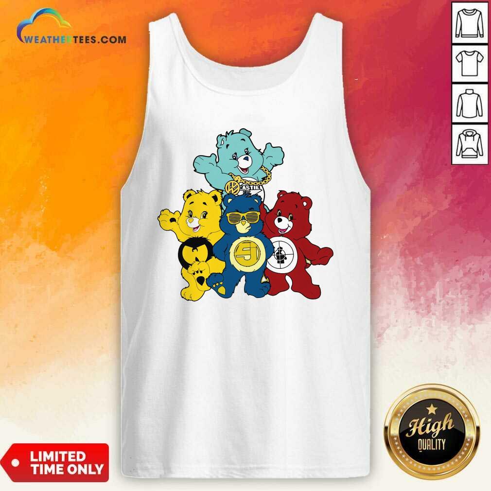 Hip Hop Hooray Bears Tank Top - Design By Weathertees.com