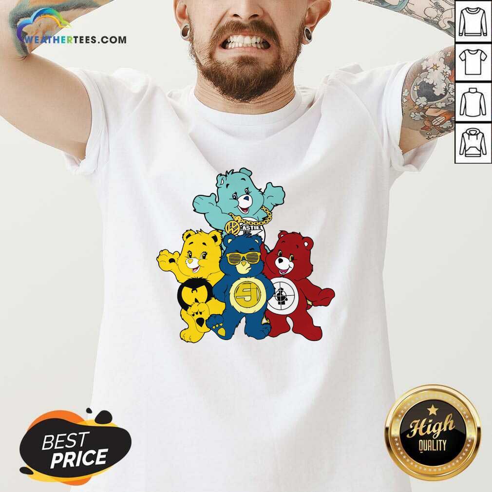 Hip Hop Hooray Bears V-neck - Design By Weathertees.com