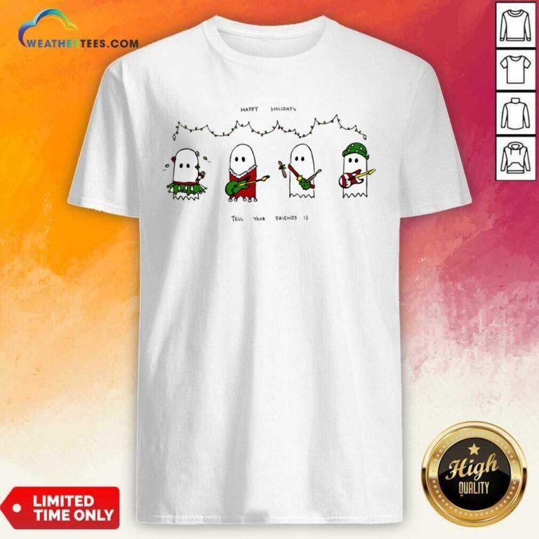 Holiday Ghosties Shirt - Design By Weathertees.com