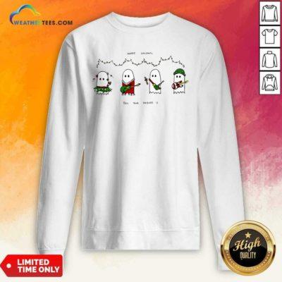 Holiday Ghosties Sweatshirt - Design By Weathertees.com