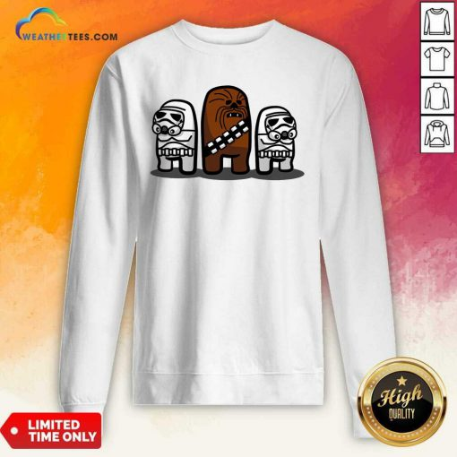 Imposter Troopers Among Us ShirtCute Imposter Troopers Among Us Sweatshirt - Design By Weathertees.com