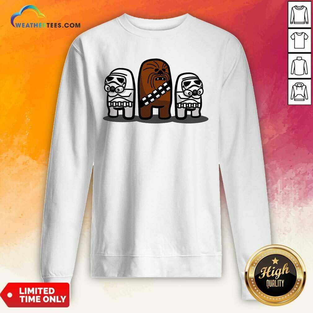 Cute Imposter Troopers Among Us Sweatshirt - Design By Weathertees.com