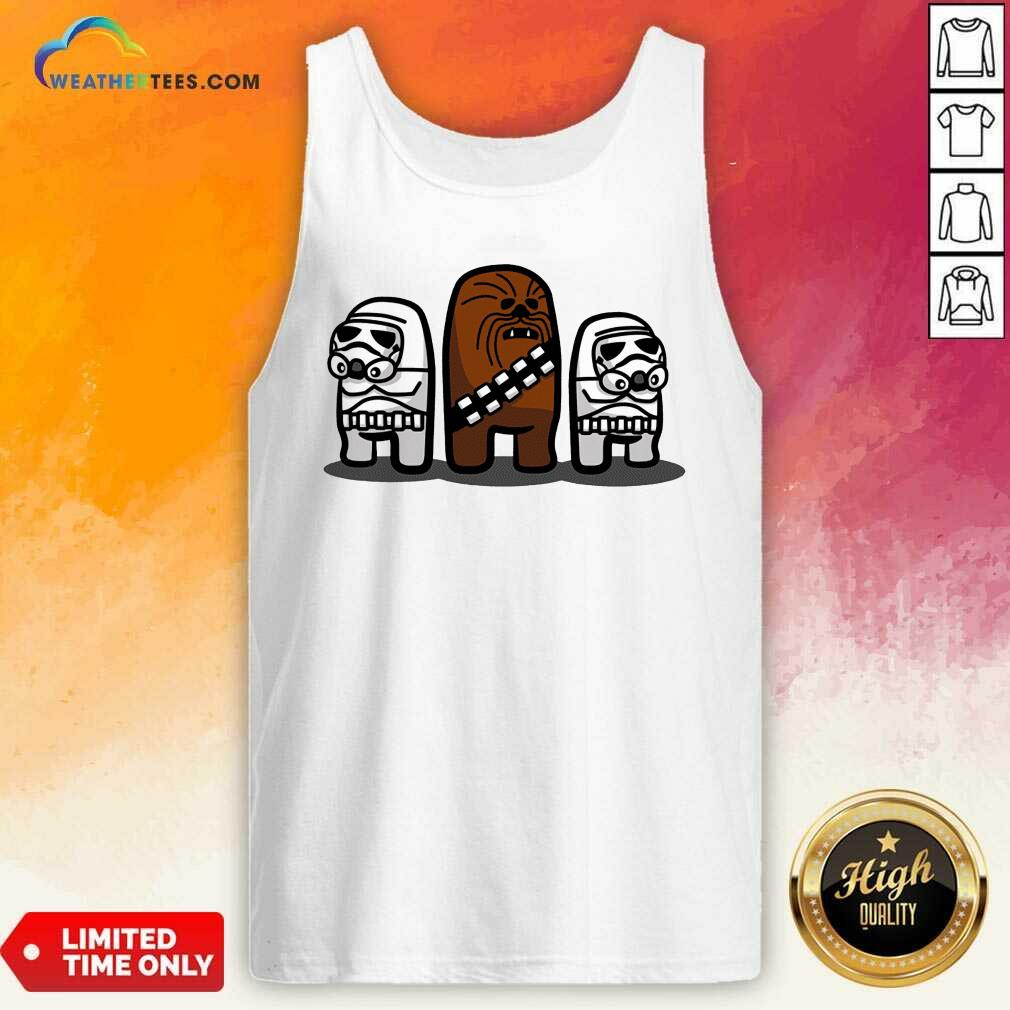 Cute Imposter Troopers Among Us Tank Top - Design By Weathertees.com