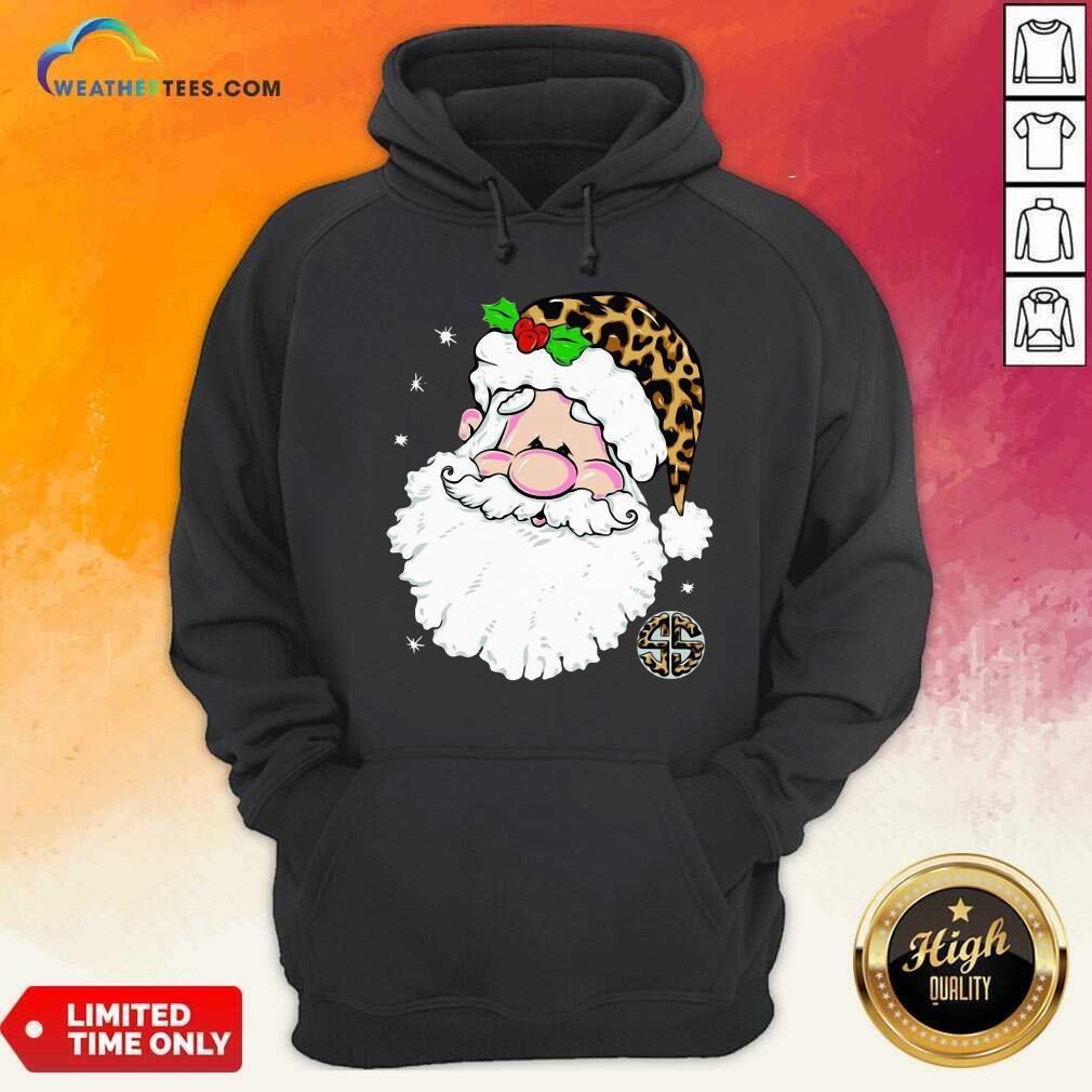 Santa Simply Southern Fa-la-la Ugly Christmas Hoodie - Design By Weathertees.com