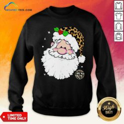Santa Simply Southern Fa-la-la Ugly Christmas Sweatshirt - Design By Weathertees.com