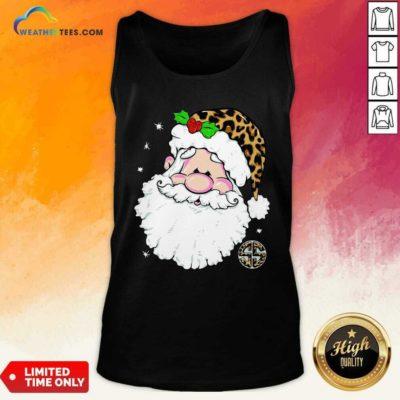 Santa Simply Southern Fa-la-la Ugly Christmas Tank Top - Design By Weathertees.com