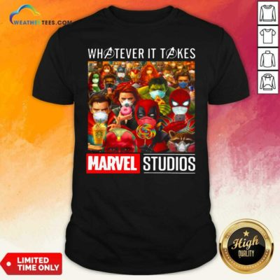 Whatever It Takes Marvel Studios Avengers Face Mask Shirt - Design By Weathertees.com