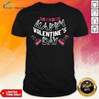 Happy Valentines Day Shirt - Design By Weathertees.com