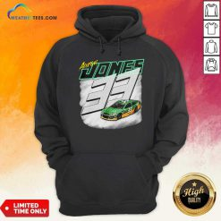 Aaron Jones Packers 33 Car Hoodie - Design By Weathertees.com