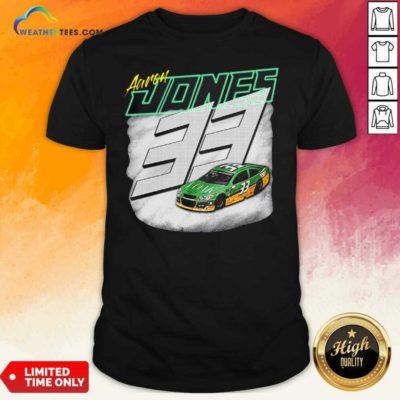 Aaron Jones Packers 33 Car Shirt - Design By Weathertees.com