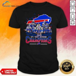 Buffalo Bills 2020 AFC East Division Champions Shirt - Design By Weathertees.com