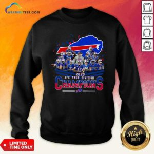 Buffalo Bills 2020 AFC East Division Champions Sweatshirt - Design By Weathertees.com