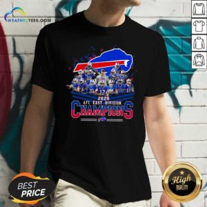 Buffalo Bills 2020 AFC East Division Champions V-neck - Design By Weathertees.com