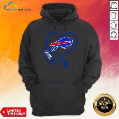 Buffalo Bills Heartbeat Hoodie - Design By Weathertees.com
