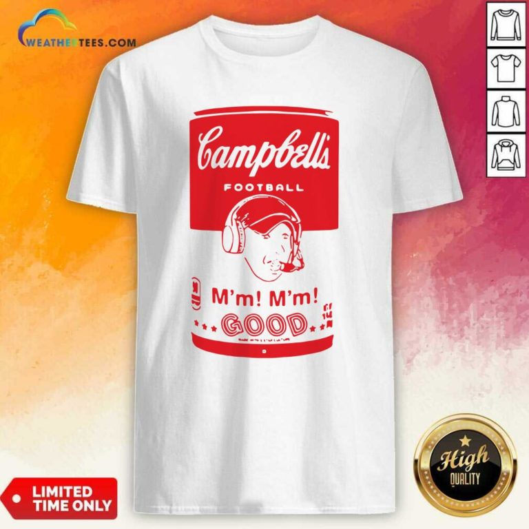 Campbells Football Soup Can Shirt - Design By Weathertees.com