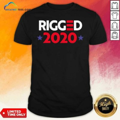 Rigged 2020 Election Voted Shirt - Design By Weathertees.com