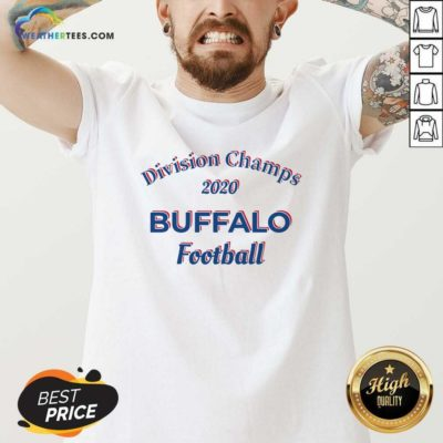 Division Champs 2020 Buffalo Bills Football V-neck - Design By Weathertees.com
