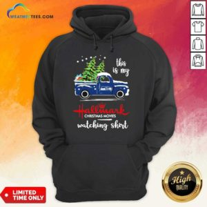 Seattle Seahawks This Is My Hallmark Christmas Movies Watching Hoodie - Design By Weathertees.com