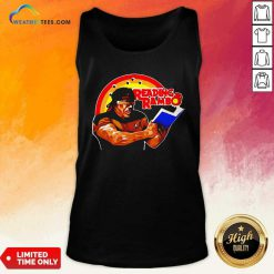 Sylvester Stallone Reading Rambo Tank Top - Design By Weathertees.com