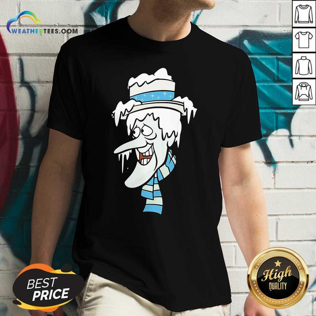 The Year Without A Santa Claus Snow Miser V-neck - Design By Weathertees.com