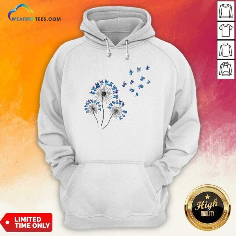 Baby Stitch Dandelion Hoodie - Design By Weathertees.com