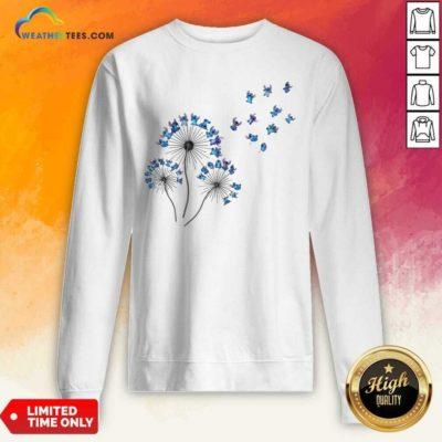 Baby Stitch Dandelion Sweatshirt - Design By Weathertees.com