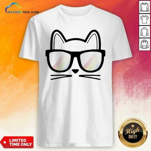Cat Cute Lover Mom Dad Animal Handmade Shirt - Design By Weathertees.com