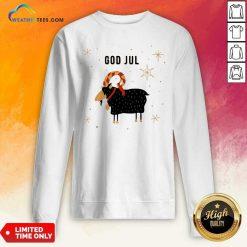God Jul Goat Ugly Christmas Sweatshirt - Design By Weathertees.com
