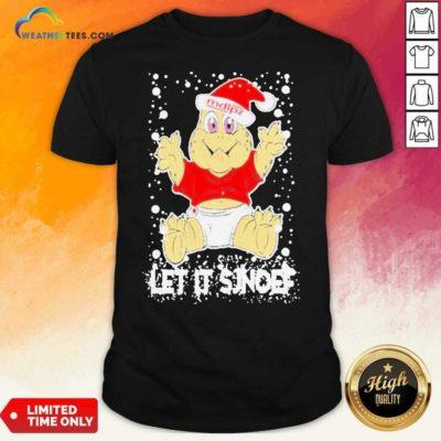 Let It Sjef Mdlz Christmas Shirt - Design By Weathertees.com