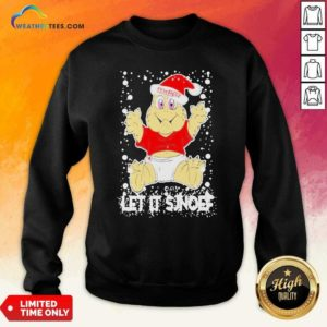 Let It Sjef Mdlz Christmas Sweatshirt - Design By Weathertees.com