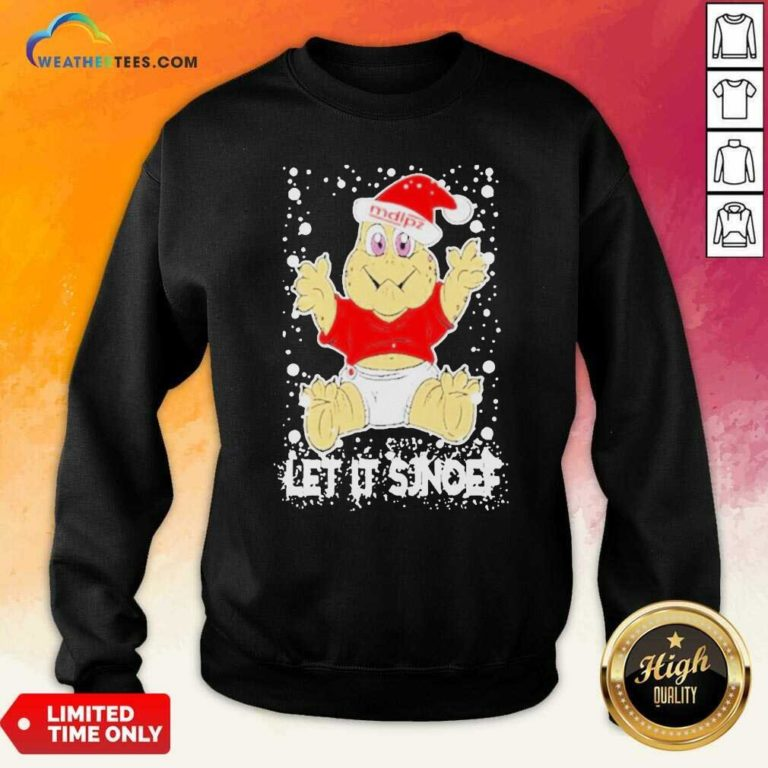 Let It Sjef Mdlz Christmas Sweatshirt - Design By Weathertees.com