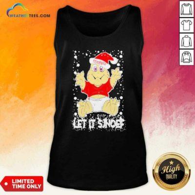 Let It Sjef Mdlz Christmas Tank Top - Design By Weathertees.com
