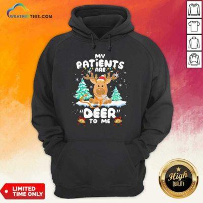 Reindeer My Patients Are Beer To Me Christmas Hoodie - Design By Weathertees.com