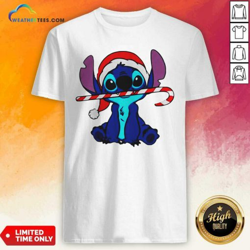 Stitch Wear Hat Santa Claus Merry Christmas Shirt - Design By Weathertees.com