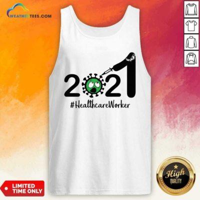 2021 Coronavirus #Healthcare Worker Tank Top - Design By Weathertees.com
