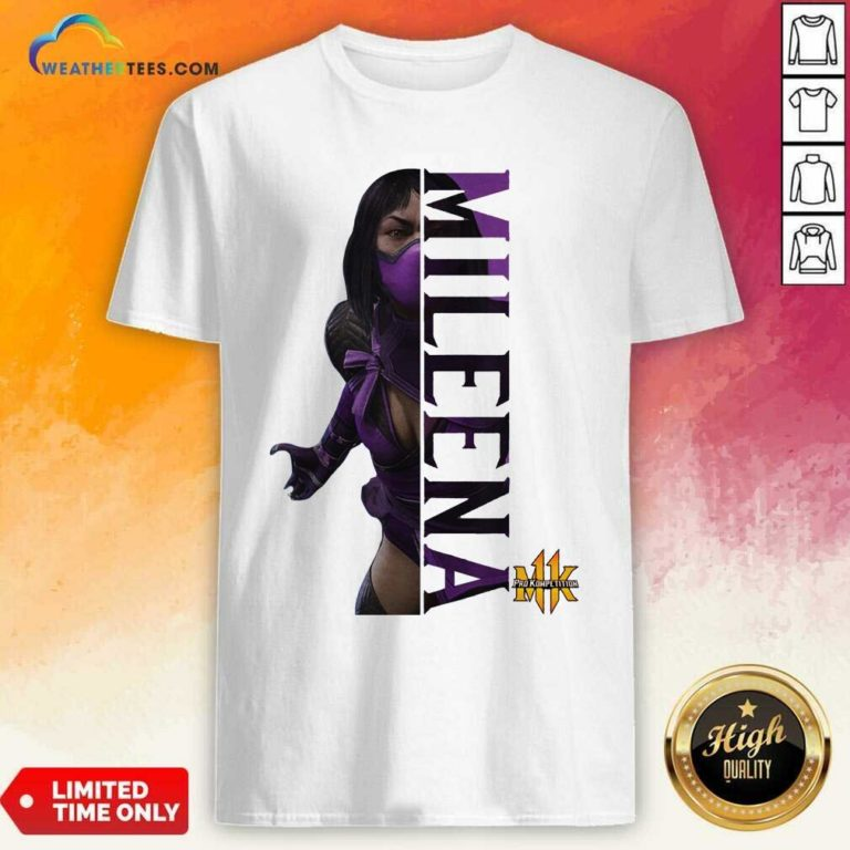 Mortal Kombat Pro Kompetition Mileena Shirt - Design By Weathertees.com