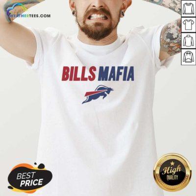 Bills Mafia Buffalo New York Football Fans V-neck - Design By Weathertees.com