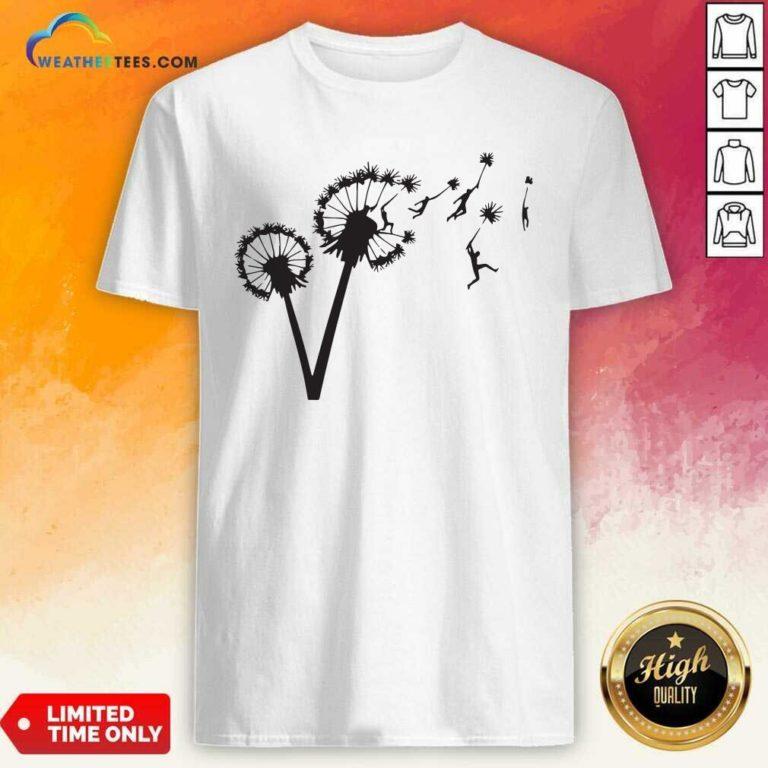 Dandy Lion Flower Shirt - Design By Weathertees.com